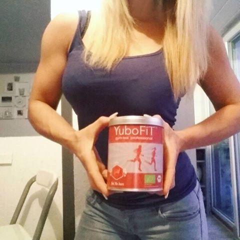 @sarah_gymgirl startet mit YuboFiT gym-tea professional® feel the burn gut in… www.yubofit.com