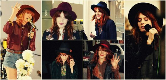 Florence Welch & hats