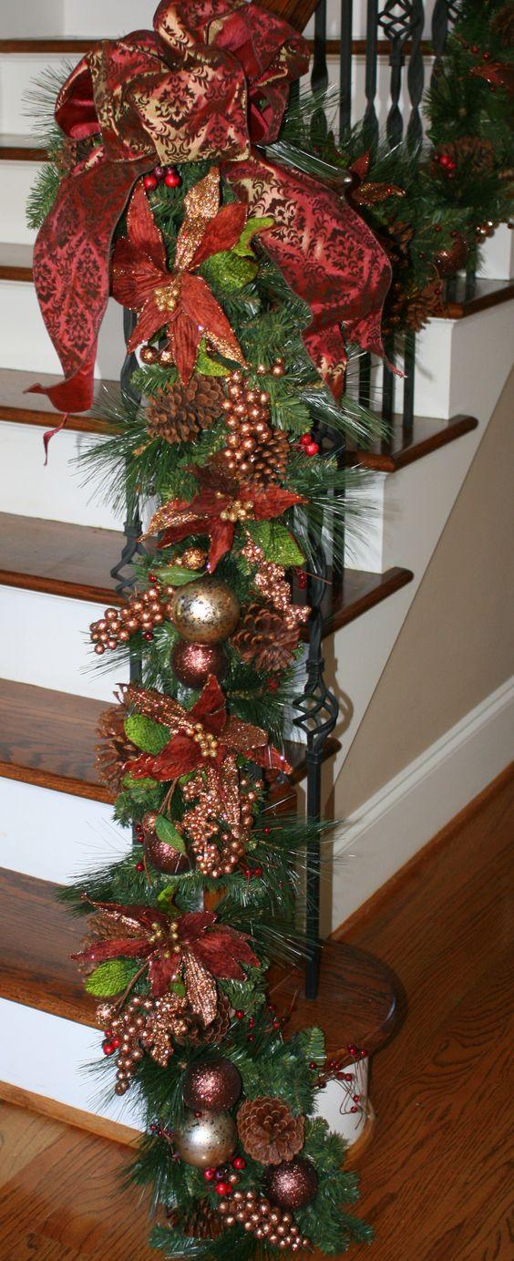 Treppen, weihnachtstreppe and einrichten & wohnen on pinterest