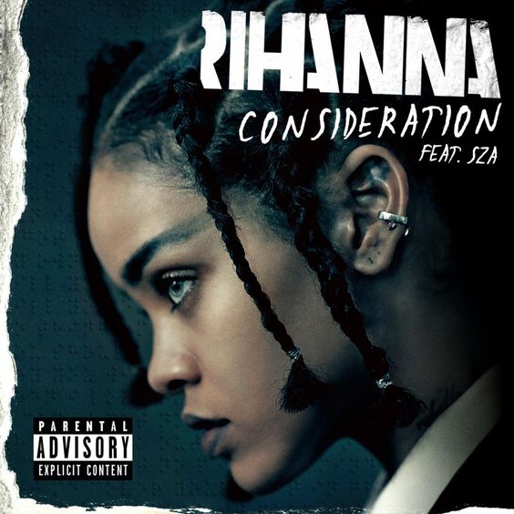Rihanna, SZA – Consideration (single cover art)