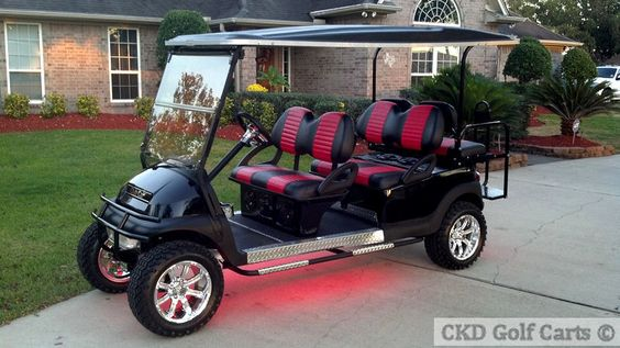 Custom Modified Golf Carts For Sale - Discount EZGO-Club Car-Carts - CKD Offers The Cheapest and Best Carts in Texas