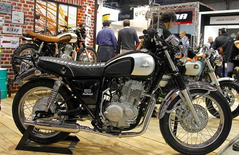Dream Machine Motorcycles mash 400 motorcycle - ...