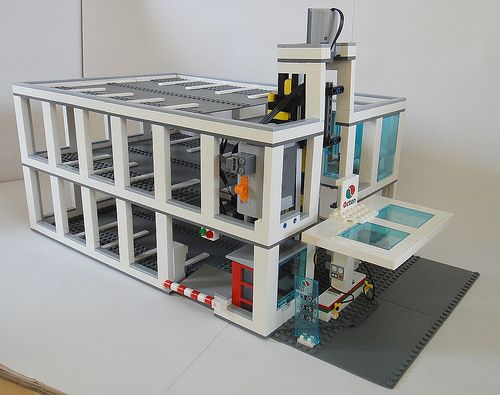 Lego Modular Parking Garage Here You Can See The Size A