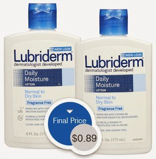 Lubriderm Lotion, Only $0.89 at Walgreens!