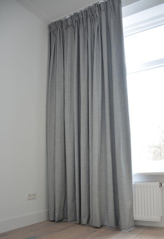 gordijnen in slaapkamer | raamdecoratie | pinterest, Deco ideeën