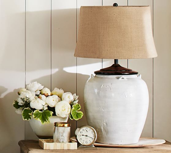 Courtney Ceramic Table Lamp Base Ivory With Images Ceramic Table Lamps Table Lamp Table Lamp Base
