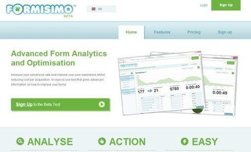 """Formisimo, el """"Google Analytics"""" de los formularios web"""