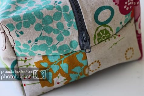 The Boxy Cosmetic Bag Tutorial Skip