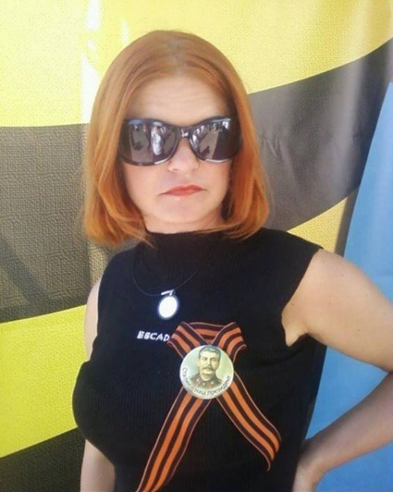Journalist Oksana Skoda, who was killed during work in Donbass. 8th July