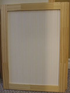 More intense update add beadboard wallpaper and wooden for Add beadboard to kitchen cabinets