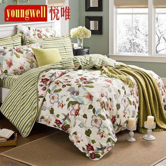Купить товарГорячая распродажа королева / король постельные принадлежности постельное белье покрывало простыни установить красочные кровать одеяла постельные принадлежности 4 шт. пододеяльник в категории Постельное бельёна AliExpress.                               Ткань: 100% хлопок плотность: 128*68 40 S диагональ                                      &