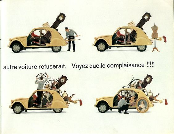 1963 Citroën 2CV Brochure