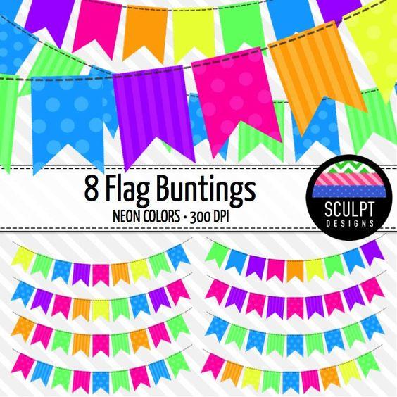 clip art flags
