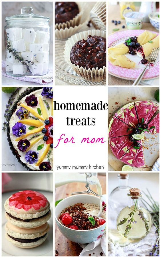 Homemade Treats and Gifts for Mother's Day + GIVEAWAY - Yummy Mummy Kitchen