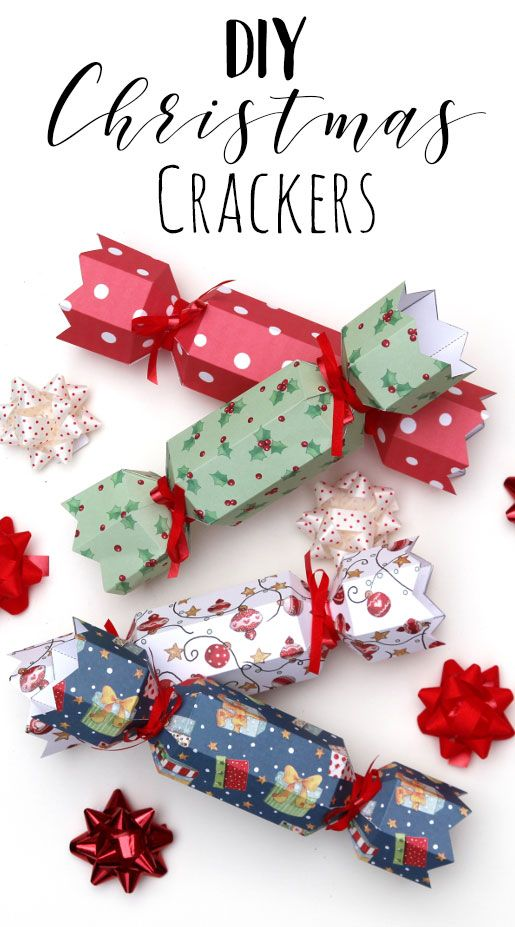 Make Your Own Diy Christmas Crackers The Perfect Craft Idea For Christmas Day Make These Handmade Cra Diy Christmas Crackers Christmas Crackers Christmas Diy