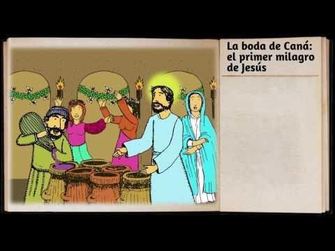 17 La Boda De Cana El Primer Milagro De Jesus Version Radioteatro Youtube Milagro Primer Biblia