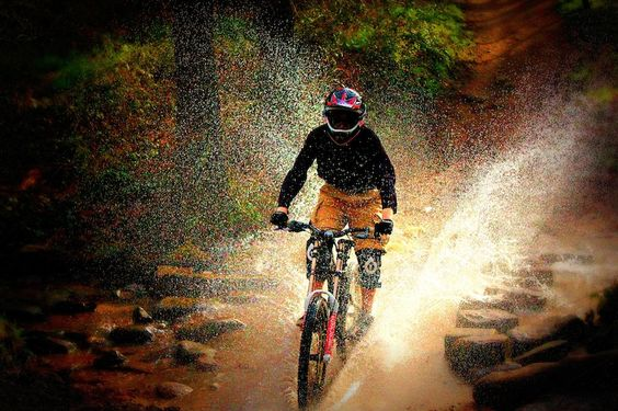 Stream Spray Mountain Biking Moutain Bike Bike Life