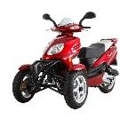 Motorcycle, Trike Gas Motor Scooters 50cc 3 Wheels Moped ScooterDepot.Us