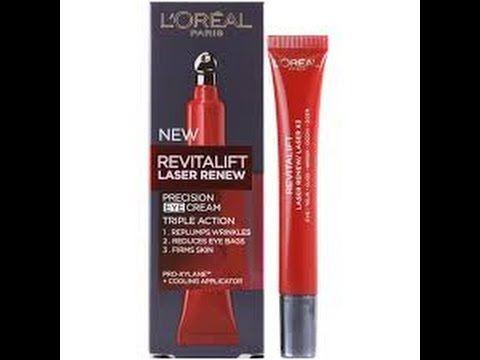 L Oreal Revitalift Laser X3 كريم لوريال للعين Youtube Revitalift Healthy Skin Loreal