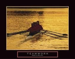 Teamwork - you know it when you see it!  And it's an awesome sight.