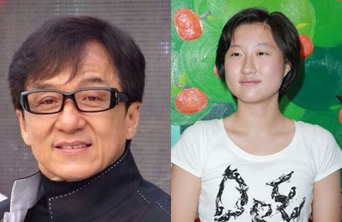 Jackie Chan's 15-year-...