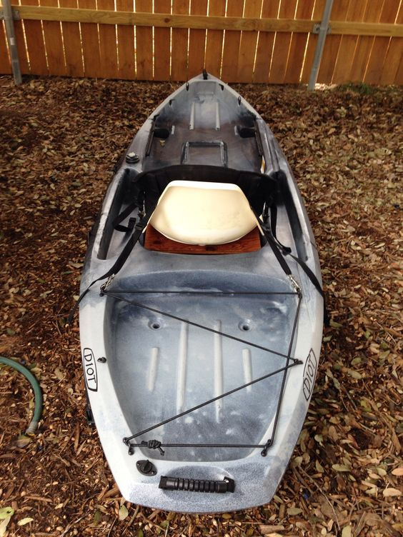 My ascend d10t seat mods fishing pinterest for Fishing kayak mods