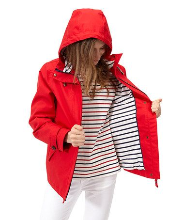 Red Coast Rain Coat - Women