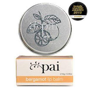 Pai Bergamot Organic Lip Balm 10g