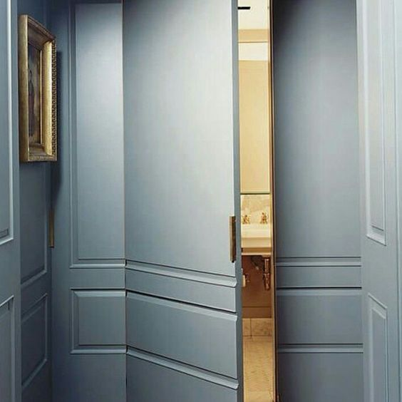 Discreetly Designed Doorway