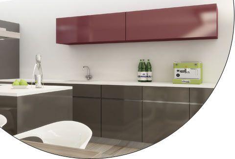 2 Flush Sliding Doors  www.modernmillworkinnovations.com    EKU AG - EKU-FRONTINO 20 H Forslide (FS) top running