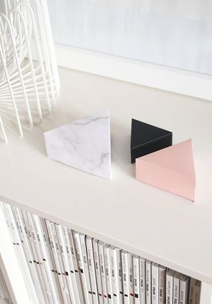 snug.triangle - DIY giftboxes: Colors Marble, Giftboxes Triangle, Triangle Giftboxes, Giftboxes Snug, Giftboxes Saltstudionyc, Diy Giftboxesj