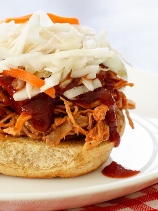 ... Pulled Pork – made with my homemade Kansas City style BBQ sauce