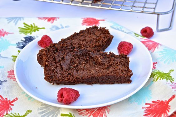 Chocolate Raspberry Zucchini Bread (Paleo, Dessert, Dairy free, Gluten Free)