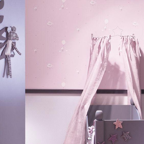 Papel pintado babies es la ultima tendencia para decorar - Habitaciones con papel pintado ...
