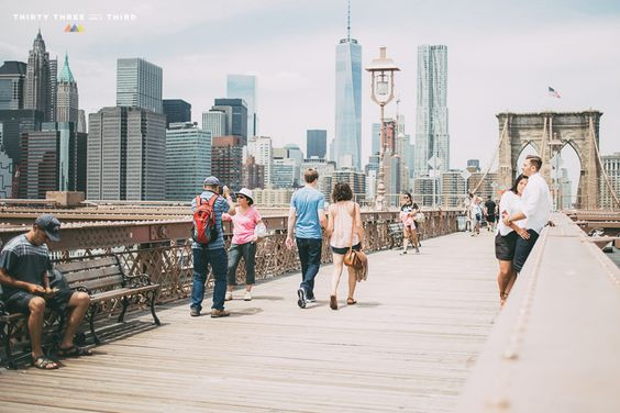 Brooklyn Bridge Engagement Shoot | Dumbo | NYC