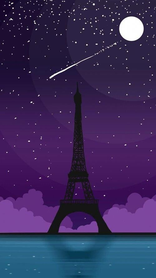 Night In Paris Takinggreatpicswithaniphone Paris Wallpaper Phone Wallpaper Cute Wallpapers