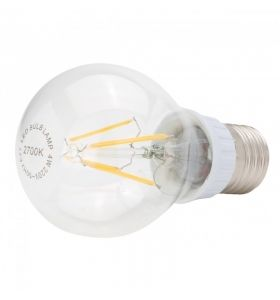 Lámpara Bombilla Filamento LED E27 4W 450Lm 30.000H