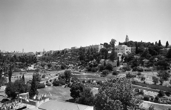 Mt. Zion, Jerusalem, Israel: Go up onto a high mountain, Zion, herald of good news! Cry out at the top of your voice,Jerusalem, herald of good news! Cry out, do not fear! Say to the cities of Judah: Here is your God! -Isaiah 40:9(NABR)