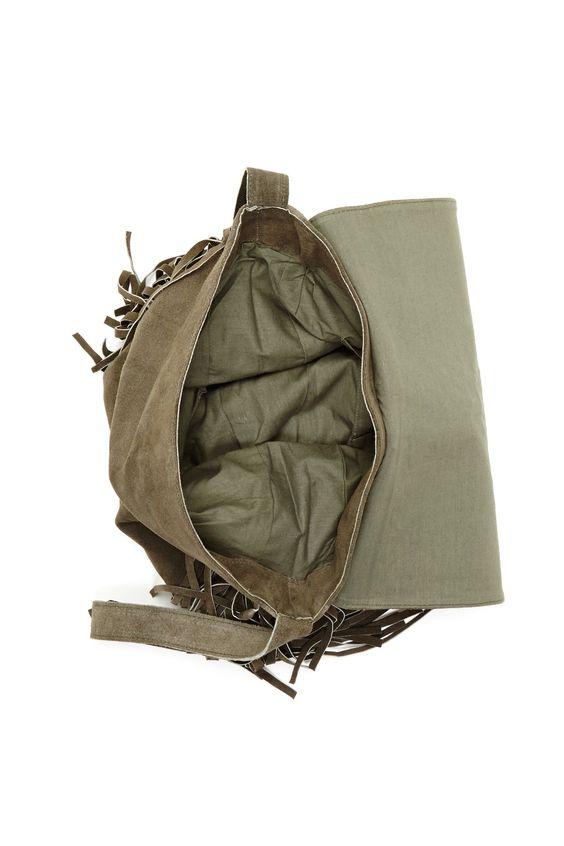 RAJ Jessica Suede Fringe Messenger Bag by RAJ on @nordstrom_rack