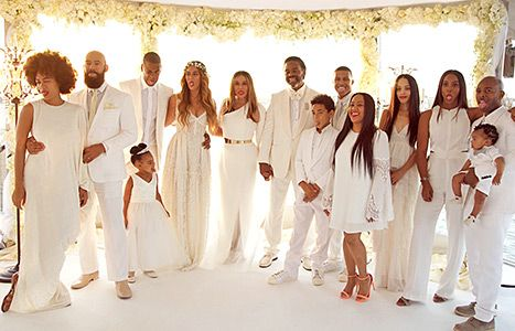 Beyonce Wedding Pictures Revealed