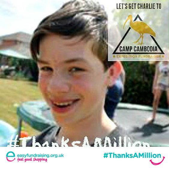 #ThanksAMillion #Charity #Giving #Fundraising