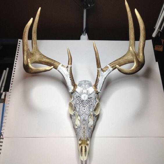 Striking Animal Skull Art by Peter Deligdisch | Marvelous