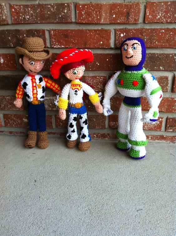 Dolls - Woody, Jessie & Buzz Lightyear from Toy Story