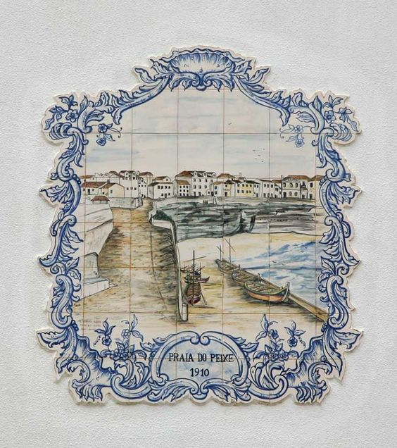 Ericeira Azulejos Handmade tiles can be colour coordinated and customized re. shape, texture, pattern, etc. by ceramic design studios