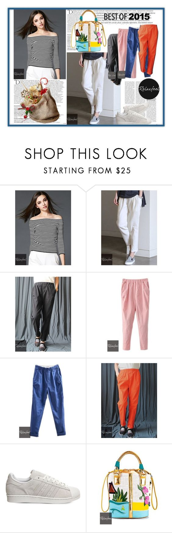"""Relaxfeel.com 11."" by azraa91 ❤ liked on Polyvore featuring Relaxfeel, Balmain and adidas"