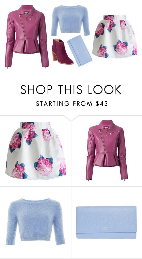"""Silly boy"" by agonyfeelsgood ❤ liked on Polyvore featuring Chicwish, Dsquared2, Smythson, Ted Baker, women's clothing, women, female, woman, misses and juniors"