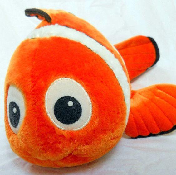 Disney plush and animals on pinterest for Fish stuffed animals