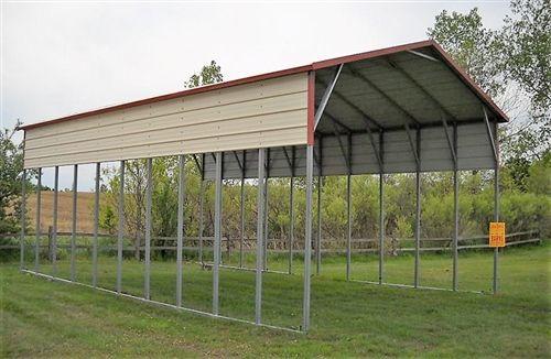 24x51 Vertical Style Metal Carport Alan S Factory Outlet Metal