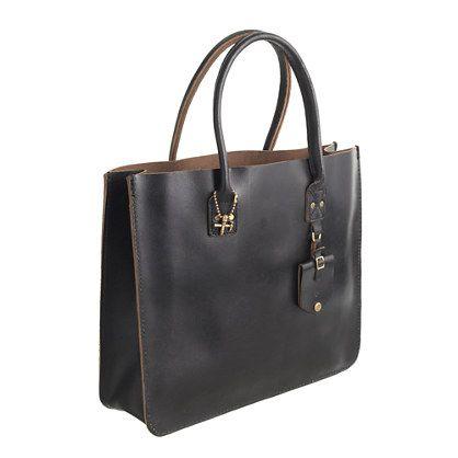 J.Crew - Pre-order Billykirk® leather tote
