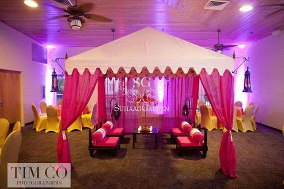 Mehndi Seating Cushions Throw Pillows Tent Canopy